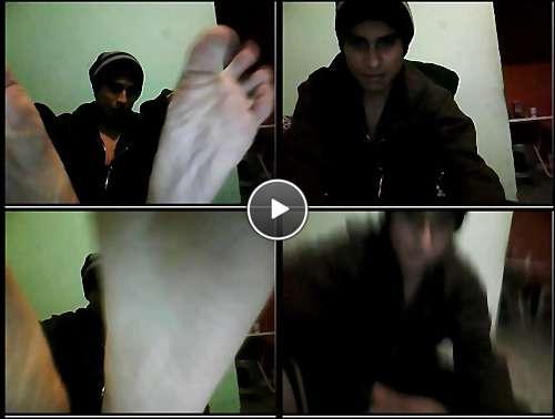 free male feet porn video