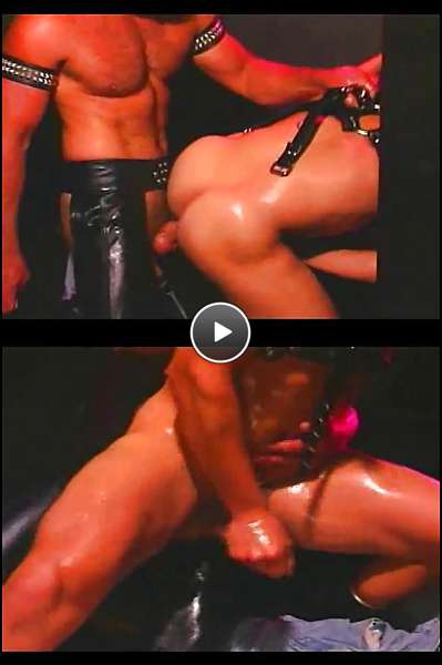 gay leather daddy porn video